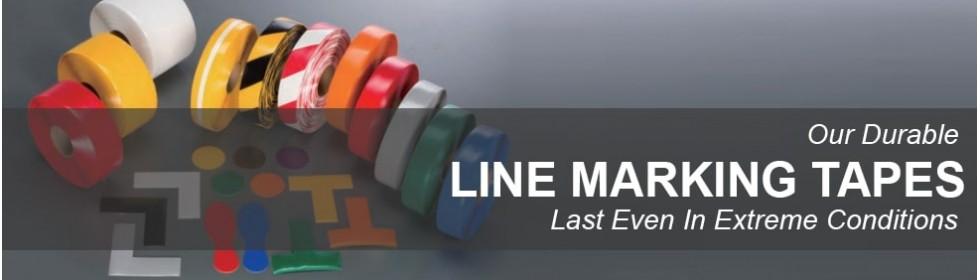 Line Marking Tapes Banner