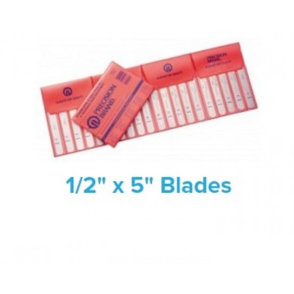 20 Piece Stainless Steel Thickness Gage Poc-Kit Assortment 1/2″ x 5″ Blades, 77750