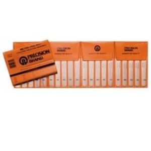 Precision Brand Metric Steel Feeler Gage Assortment, 12.7 x 127 mm, 09740