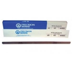 0.02mm Metric Feeler Gage 12.7mm x 305mm Blades (Pack of 12), Spring Steel C1095, 09202
