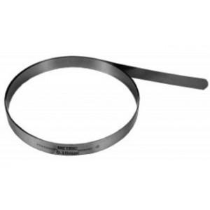 0.02mm Metric Feeler Gage 12.7mm x 7.6m Coil (Pack of 1), Spring Steel C1095, 09102