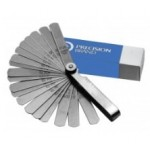 25 Piece Steel Feeler Gage Fan Blade Assortment 1/2″ x 3″ Rounded Blades, 19821