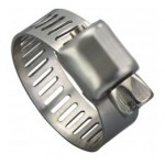 """M4HSP, Micro Seal®, Miniature Hose Clamp, 7/32"""" - 5/8"""", 300 Stainless (Pack of 10), 33500"""