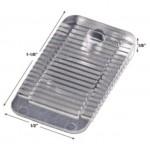 "Wedgies Mini Flexible Installation Shim, W0.58"" x L1.12"" x H1/8"", Polypropylene (Clear), Pack of 100, 48935"
