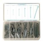 600 Piece Cotter Pin Assortment, Steel, 12905