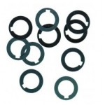 """Arbor Spacer, ID 1/2"""" x OD 3/4"""" x .004"""", Steel, Pack of 10, 24125"""