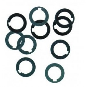 """Arbor Spacer, ID 3/4"""" x OD 1.1/8"""" x .062"""", Steel, Pack of 10, 24177"""