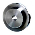 End Plate With Male Centering Chamfer, Ød6.5 x ØD35 x T9mm, Steel S45C (Black Oxide), EPC2006