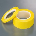 Masking Tape D, W10 x Film Thickness 0.05mm x Glue Thickness 0.04mm x L66m, Polyester Film with silicone-based glue, HRDP10