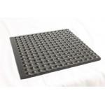 Ergomat Complete Bubble Mat, L90 x W60 x T1.5 cm, Polyurethane (Dark Grey), STF6090