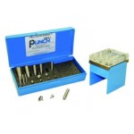 """TruPunch® Punch and Die Set with Stand, up to OD 3/4"""", 40199"""