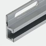 Bottom Mount Sensor Rail (Straight) with Slotted Holes, L80 x W17 x H6 mm, M3, Aluminium (WA), FSSARL080-03A