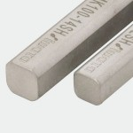 MK Shaft for Round (ØD12) and Square (□10) Joints, L100mm, SUS304, FSMK100-12S