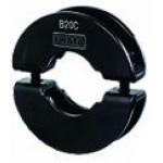 Shaft Bracket for Round Shafts, ØB10 x (H)14.2mm, Steel (Black Oxide), B10C