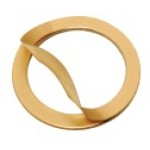 Laminated Shim Ring, 0.50 x Ød23 x ØD30mm, 0.05mm Laminates, Brass, RB5023030050