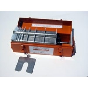 "Size E (6"" x 6"") Efficiency Shim Kit, .001"" to .125"", 260 pcs, SUS304, 30340107502"
