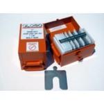 """Size H (8"""" x 8"""") Mini Shim Kit, .001"""" to .125"""", 130 pcs, SUS304, 30340109505"""