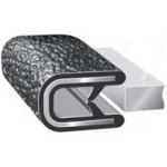 Edge Trims For Plate Thickness 4.0mm, 75M, PVC, Black, S150-40-B-2